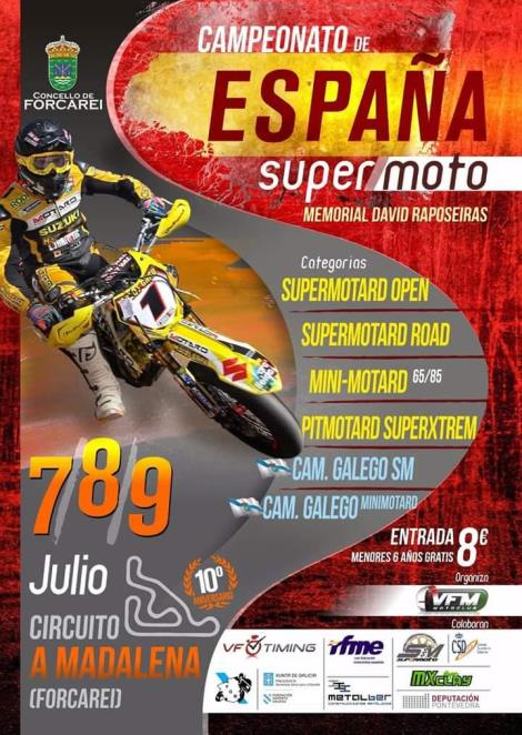 CAMPIONATO SUPERMOTARD ESPAÑA 2017. MEMORIAL DAVID RAPOSEIRAS